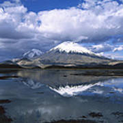 Parincota Lauca National Park Andes Art Print