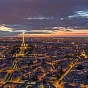 Paris - Tour Montparnasse 2 Art Print