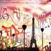Paris 15 Art Print
