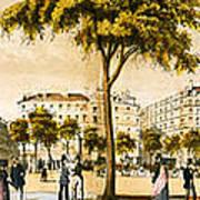 Paris 1878 Art Print