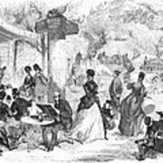 Paris: Boulevard, 1872 Art Print