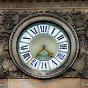 Paris Clocks 1 Art Print