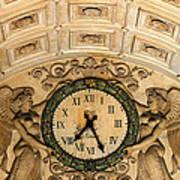 Paris Clocks 2 Print by Andrew Fare