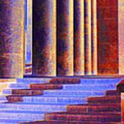 Paris Columns Art Print by Chuck Staley