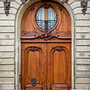 Paris Doors Art Print