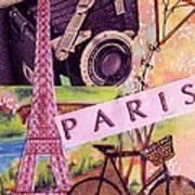 Paris  Art Print by Eloise Schneider