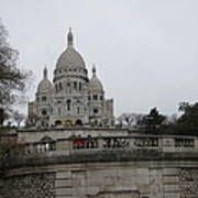 Paris France - Basilica Of The Sacred Heart - Sacre Coeur - 12129 Art Print