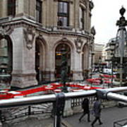 Paris France - Street Scenes - 0113115 Art Print