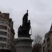 Paris France - Street Scenes - 0113129 Art Print by DC Photographer
