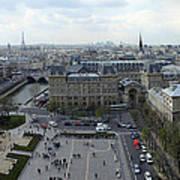Paris From Notre Dam Art Print