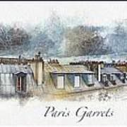 Paris Garrets Art Print