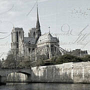 Paris History Art Print