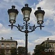 Paris Lamp Post Art Print