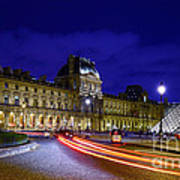 Paris Louvre Museum Art Print