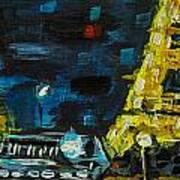 Paris Night Art Print