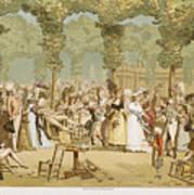 Paris Palais Royal, C1780 Art Print