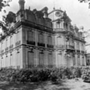 Paris Private Home, 1872 Art Print
