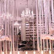 Paris Repetto Ballerina Tutu Shop - Paris Ballerina Dresses Window Display  Art Print