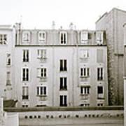 Solitude In Paris Art Print