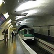 Paris Subway  Art Print