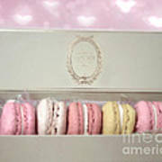 Paris Macarons Laduree Tea Shop Patisserie - Dreamy Laduree Box Of French Macarons - Paris Macarons Art Print