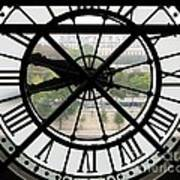 Paris Time Art Print