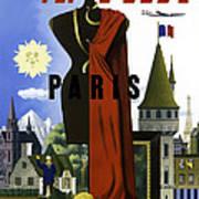 Paris Twa Art Print