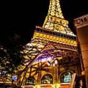 Paris Under The Tower Art Print