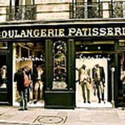 Paris Waiting Art Print