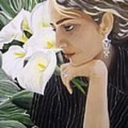 Parisa Art Print
