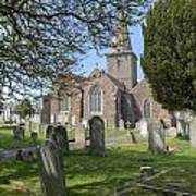 Parish Church St Martin - Jersey Art Print