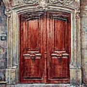 Parisian Door No. 8 Art Print