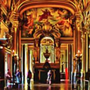 Parisian Opera House Art Print