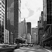 Park Avenue In New York City Art Print
