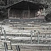 Park Pavilion Stage Art Print