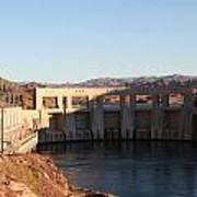 Parker Canyon Dam Art Print