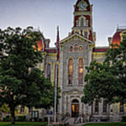 Parker County Courthouse Art Print