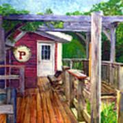 Parker Pie In West Glover Vt Art Print