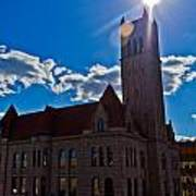 Parkersburg Courthouse Art Print