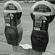 Parking Meters Art Print