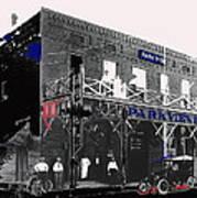 Parkview Hotel Tucson Arizona C. 1908-2011 Art Print
