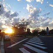 Parkway Sunset Art Print