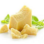Parmesan Cheese Art Print