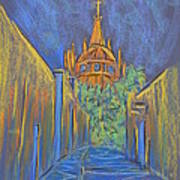 Parroquia From The Back Art Print by Marcia Meade