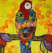Parrot Oshun Art Print