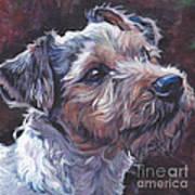 Parson Russell Terrier Art Print
