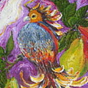 Partridge In A Pear Tree Art Print