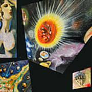 Parts Of Universe Art Print