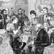Party Toast, 1872 Art Print
