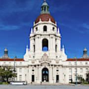 Pasadena City Hall, Pasadena California Art Print